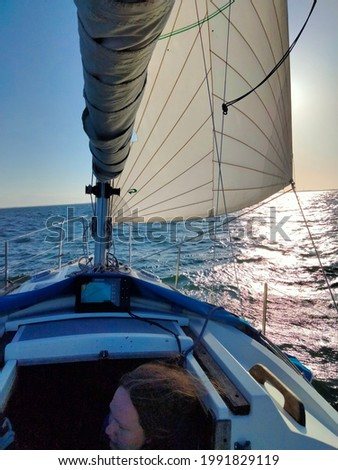 Som pics of sailing and of nature around the small place ind the danish ocean