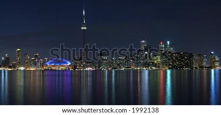 Toronto waterfront panorama #1992138