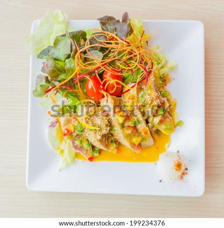 Tuna salad #199234376