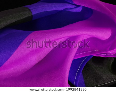 Flag Germany Rumpled Black Purple Design background with unique and attractive texture