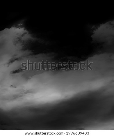 Cloud, fog or smoke isolated on black background. Royalty high-quality free stock photo image of  white cloudiness, clouds, mist or smog background