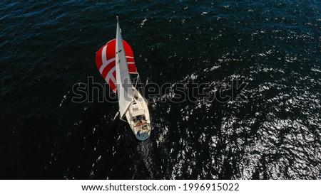 Scanmar 33 Sailing Boat underway