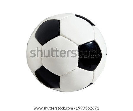 Soccer Ball, Football isolated on white background. High resolution, Sport concept
