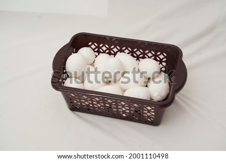this is a picture of chicken eggs, Eggs are nutritionally valuable due to their content of high-value proteins, fat, lecithin, vitamins and minerals. this picture is clicked on july 2, 2021.