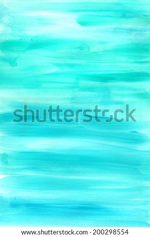 Watercolor marine background