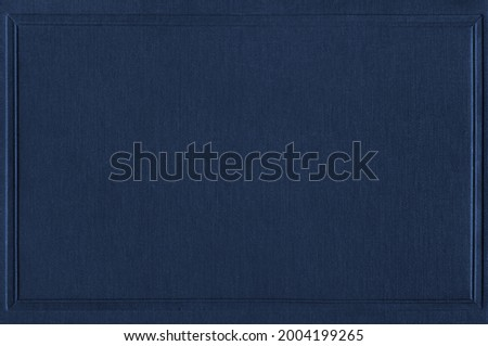 Navy blue book cover mockup