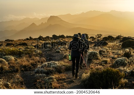 Kilimanjaro in Tanzania the highest point in the African Continent Royalty-Free Stock Photo #2004520646