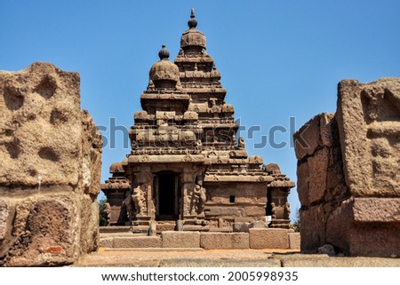 Picture for ancient temple town in tamilnadu