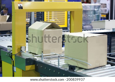 Strapping Machine for Industrail Packaging Line #200839937