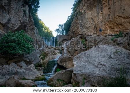 Landscapes of the Cerrada del Utrero hiking route. Sierra de Cazorla. Jaen. Spain Royalty-Free Stock Photo #2009099108