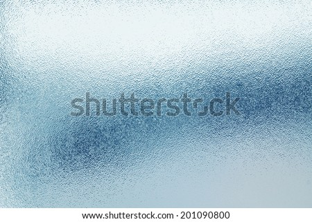 Closeup of frosted glass texture Royalty-Free Stock Photo #201090800