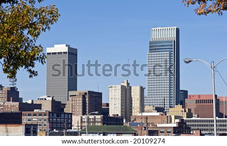 A view of downtown Omaha Nebraska