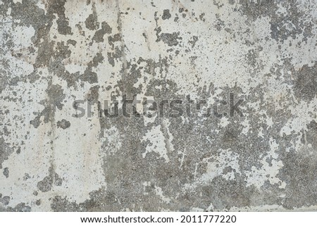 black and white photography backdrop, empty full frame background, broken and old concrete wall surface texture, top down view