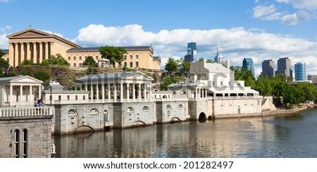 Philadelphia art museum waterfront - Pennsylvania - USA