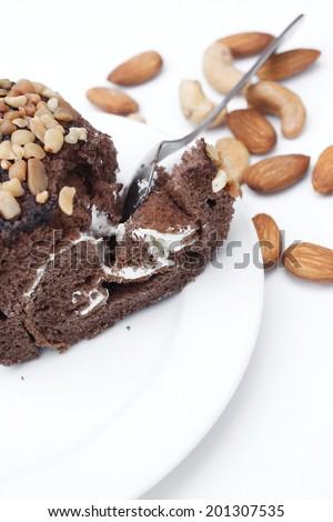 chocolate cake roll #201307535