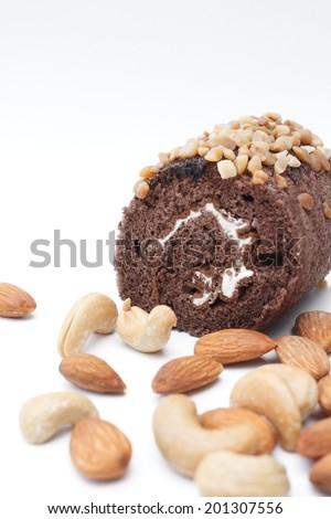 chocolate cake roll #201307556