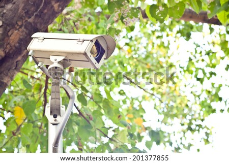 cctv camera for security #201377855