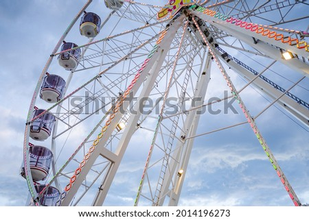 Ferris wheel at Sydney Darling harbour Royalty-Free Stock Photo #2014196273