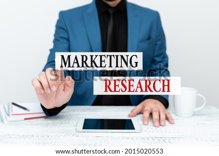 Conceptual caption Marketing Research. Conceptual photo process of determining the viability of a new service Presenting Communication Technology Smartphone Voice And Video Calling