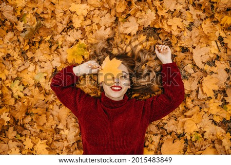 Activities for Happy Fall, Improve Yourself, Ways To Be Happy And Healthy autumn. Embrace Life, Happiness, Joyful Habits, Mindfulness, Health and Wellness, Empowerment, Mindset in Fall Royalty-Free Stock Photo #2015483849