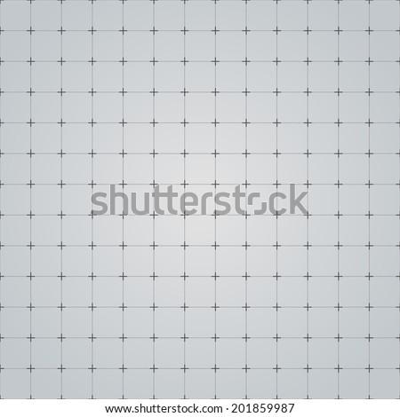 Seamless grid technology background. Vector illustration.