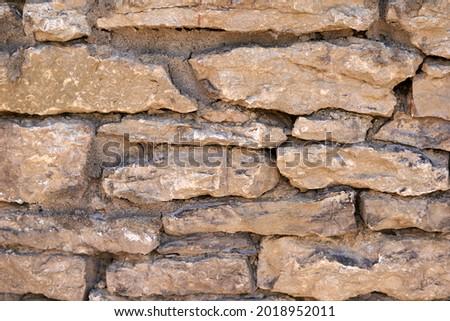 Acient brick wall. Grunge brick wall background. Background of old vintage brick wall. High quality photo Royalty-Free Stock Photo #2018952011