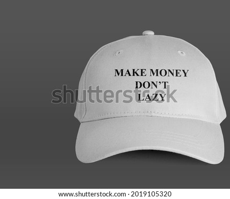 design casual hat for walking during the day Royalty-Free Stock Photo #2019105320