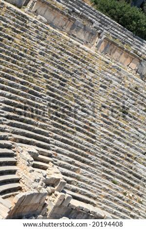 The ruins of ancient amphitheatre, Demre, Turkey #20194408