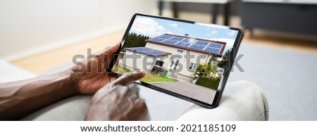 Looking To Buy House On Tablet Computer