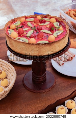 decoration wedding cake for marriage buffet food Royalty-Free Stock Photo #2022880748