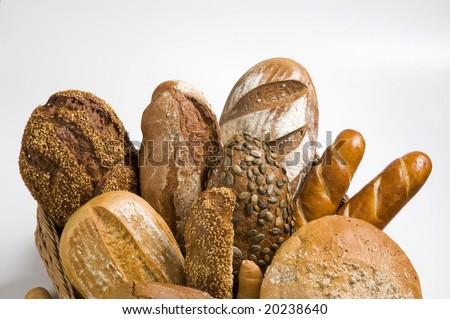 Assortment of brown bread #20238640