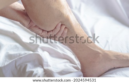 Numbness in the leg calf is a side effect of vaccination.