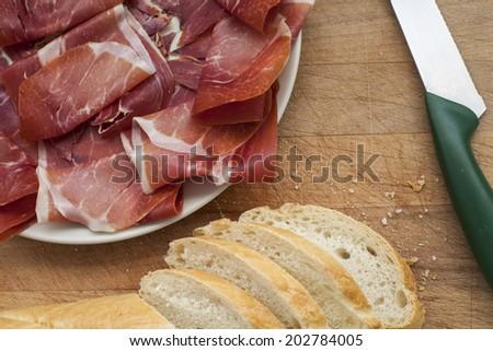 Bread and ham #202784005