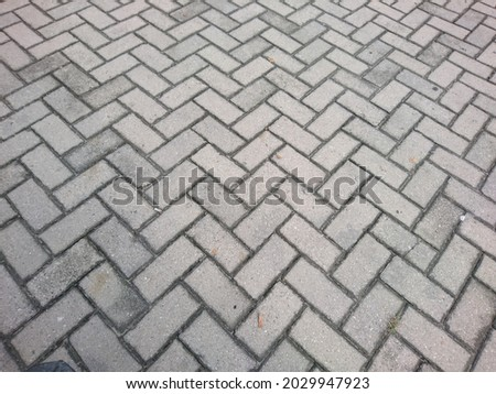 Paving Blocks Texture High Res Stock Image