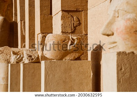 Pictures of the temple of Hatshepsut in Egypt