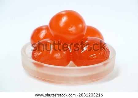 Salted egg yolk, secret recipe food Royalty-Free Stock Photo #2031203216