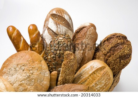 Assortment of brown bread #20314033