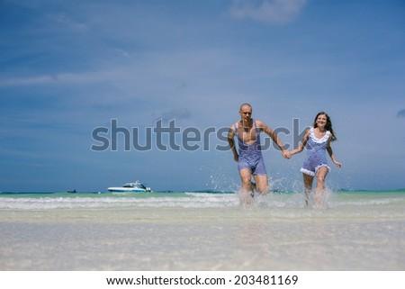 Happy vacation on the sea #203481169