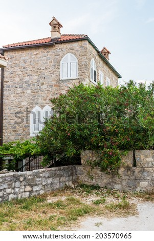 Old Budva. Houses, streets and alleys. Montenegro #203570965