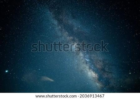 galaxy star darl night sky Royalty-Free Stock Photo #2036913467