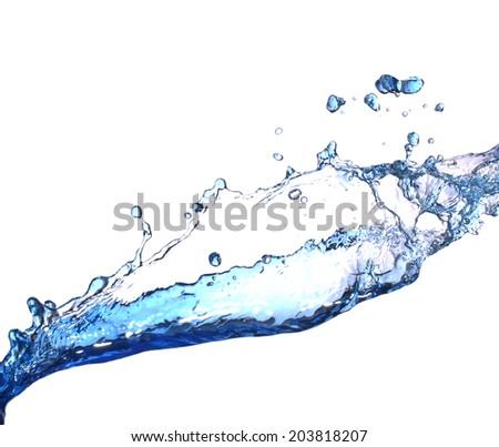 Water  splash  #203818207
