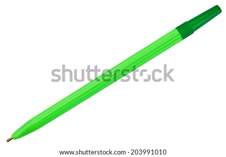 ballpoint pen isolated on white background #203991010