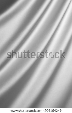 Silver silk textile  #204154249