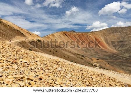 Handcart Gulch Trail, Colorado, USA Royalty-Free Stock Photo #2042039708