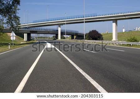 Highway near capital Zagreb in Croatia #204303115