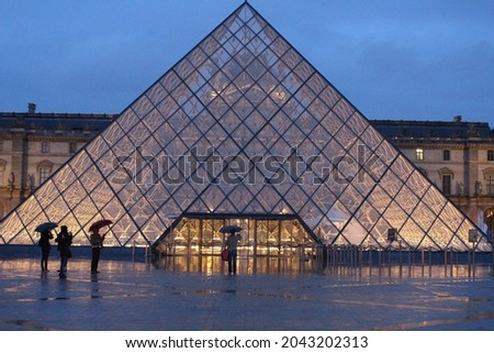 I took this picture when I traveled to Paris. Royalty-Free Stock Photo #2043202313