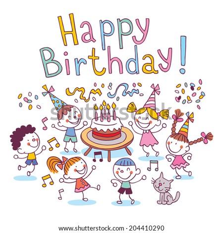 Happy Birthday kids #204410290