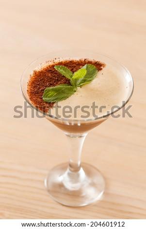 dessert with coffee #204601912