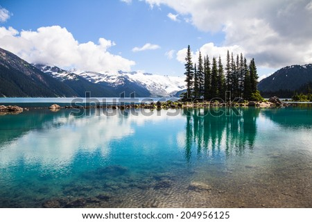 Garibaldi Lake reflections, Whistler, BC #204956125