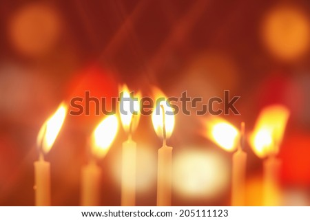 An Image of The Candle